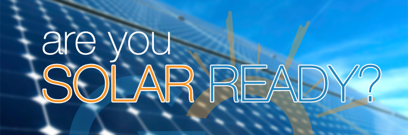 An image link to the solar ready program.
