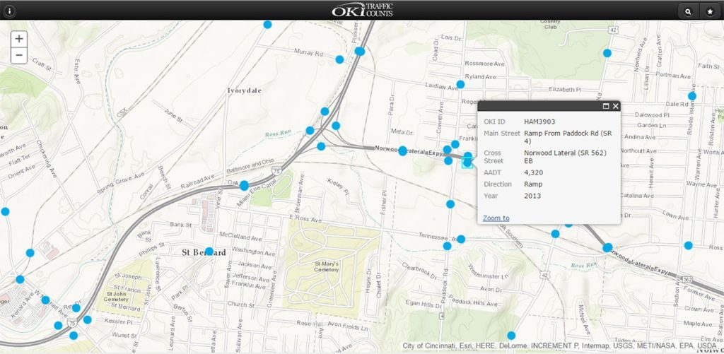 Traffic Counts Oki Regional Council Of Governments