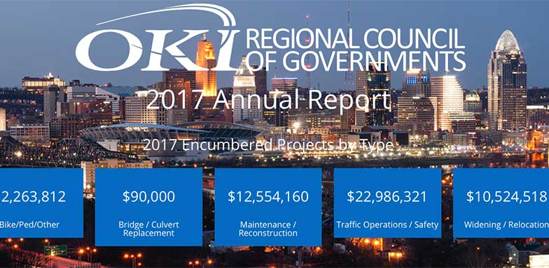 View the OKI Annual Report