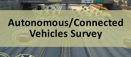 Click the image to take the autonomous/connected vehicles survey
