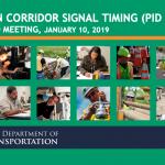 Eastern Corridor Signal Timing