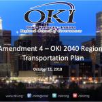 Amendment 4 – OKI 2040 Regional Transportation Plan